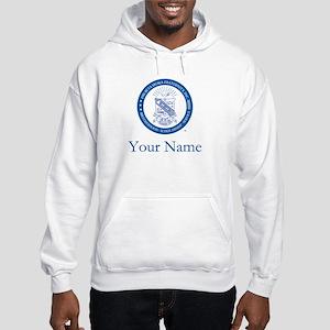 Phi Beta Sigma Shield Personaliz Hooded Sweatshirt