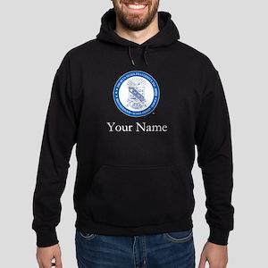 Phi Beta Sigma Shield Personalized Hoodie (dark)