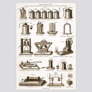 19th Century electrical equipment