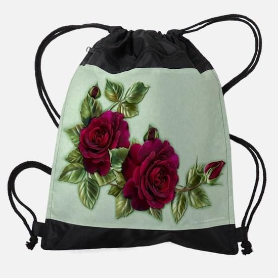 CrescentRose.png Drawstring Bag