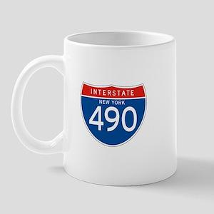 Interstate 490 - NY Mug