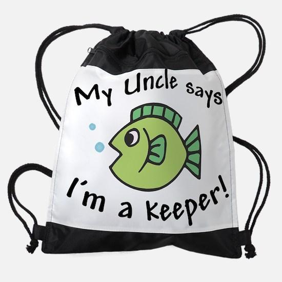 myunclekeeper.png Drawstring Bag