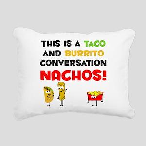 Taco and Burrito Conversation, nachos Rectangular