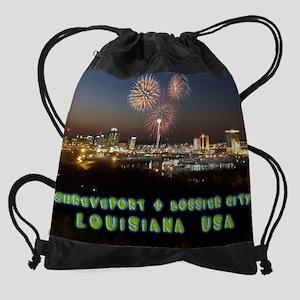 ShreveportLA-Nite Calendar Drawstring Bag