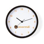 Gaveroid Logo Wall Clock