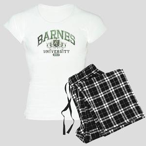 Barnes last name University Class of 2013 Pajamas