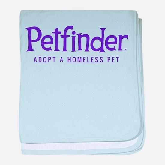 Petfinder baby blanket