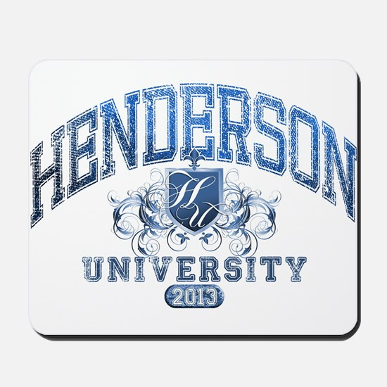 Henderson last name University Class of 2013 Mouse