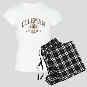 Coleman Last name University Class of 2013 Pajamas