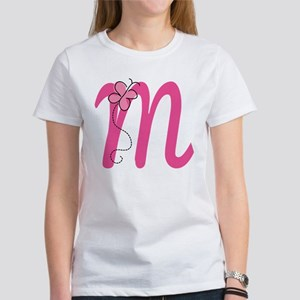 Letter M Monogram Women's T-Shirt
