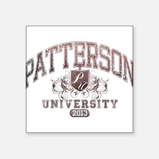 Patterson Last Name University Class of 2013 Stick
