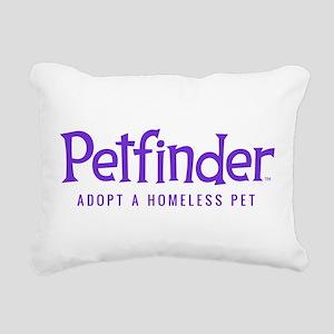 Petfinder Rectangular Canvas Pillow
