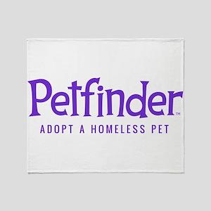 Petfinder Throw Blanket