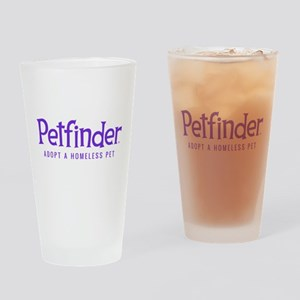 Petfinder Drinking Glass