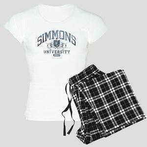 Simmons Last Name University Class of 2013 Pajamas