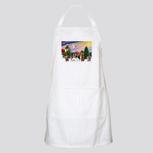 Treat for 3 Cavaliers BBQ Apron