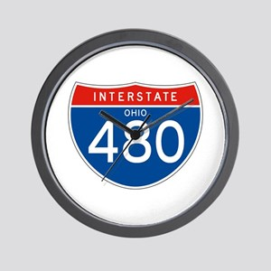 Interstate 480 - OH Wall Clock