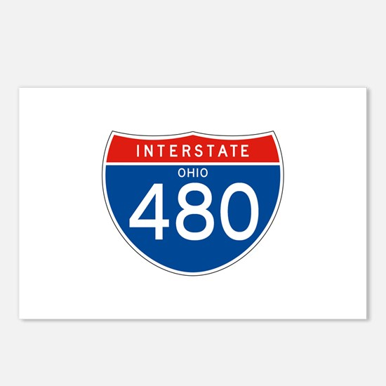 Interstate 480 - OH Postcards (Package of 8)