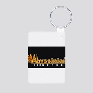 The Abyssinian Aluminum Photo Keychain