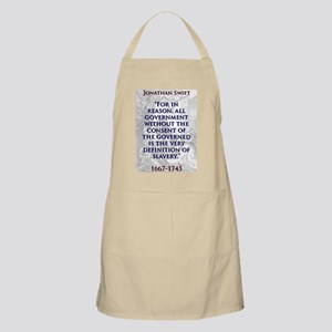For In Reason All Government - J Swift Light Apron