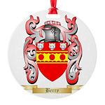 Berry Round Ornament