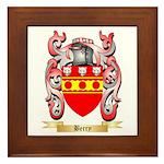 Berry Framed Tile