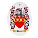 Berry Ornament (Oval)