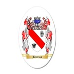 Berrios 35x21 Oval Wall Decal