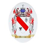 Berrios Ornament (Oval)