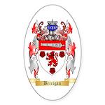 Berrigan Sticker (Oval 50 pk)