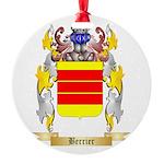 Berrier Round Ornament