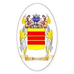 Berrier Sticker (Oval 10 pk)