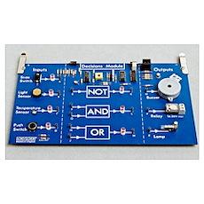 Educational circuit board Poster