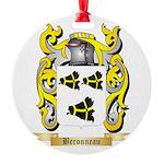 Beronneau Round Ornament