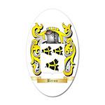 Beron 35x21 Oval Wall Decal