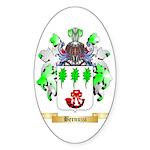 Bernuzzi Sticker (Oval 10 pk)