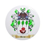 Bernt Ornament (Round)
