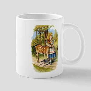 Alice and a Doe Mug