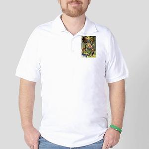 Beware the Jabberwocky Golf Shirt