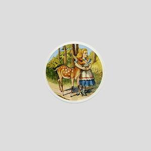 Alice and a Doe Mini Button