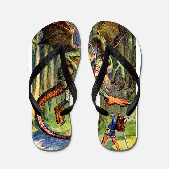 Beware the Jabberwocky Flip Flops