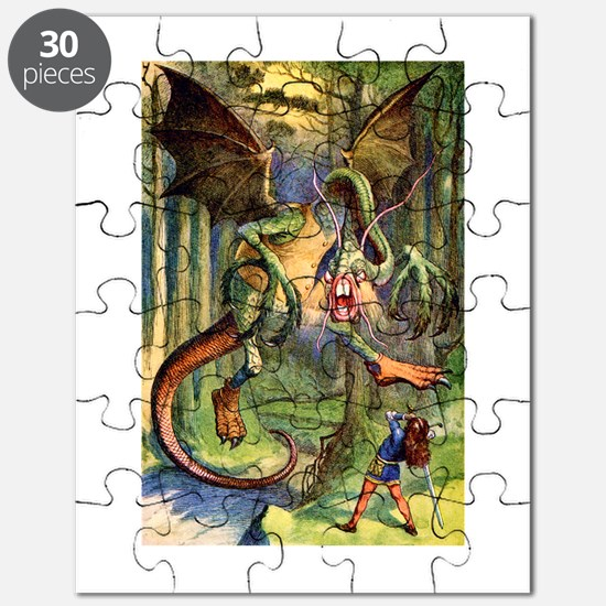 Beware the Jabberwocky Puzzle