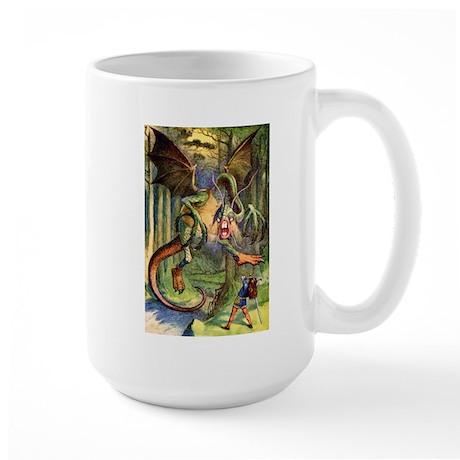 Beware the Jabberwocky Large Mug