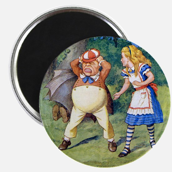 Alice and Tweedledum Magnet