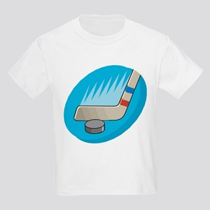 PUCK AND STICK Kids T-Shirt