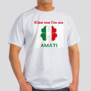 Amati Family Ash Grey T-Shirt