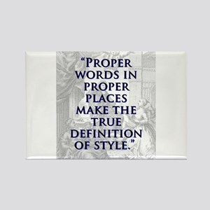 Proper Words In Proper Places - J Swift Magnets