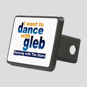 I Want to Dance with Gleb Rectangular Hitch Cover