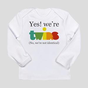 YesWereTwinsFraternal Long Sleeve T-Shirt