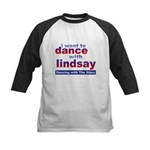 I Want to Dance with Lindsay Kids Baseball Jersey